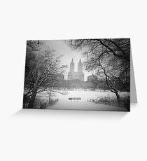 Central Park - Winter Wonderland Greeting Card