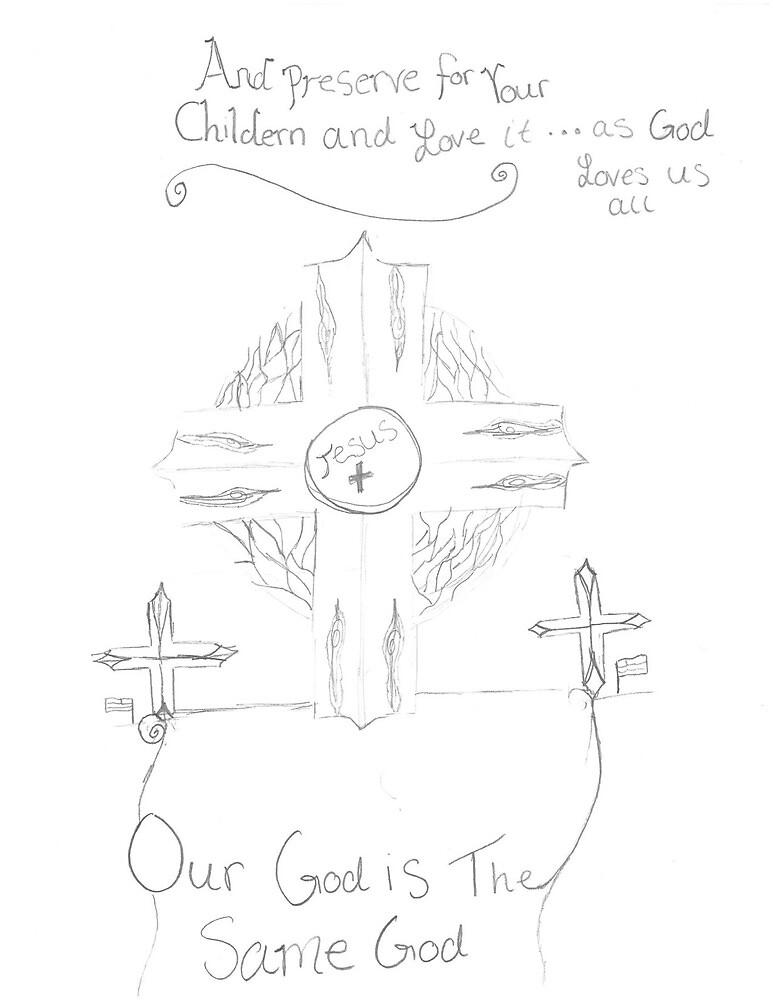 Our God is the Same God by skrakauer