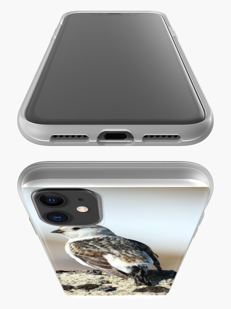 Alternate view of Snow bunting iPhone Case & Cover