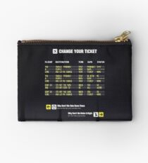 Change Your Ticket Studio Pouch