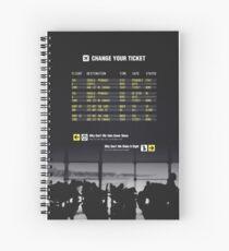 Change Your Ticket Spiral Notebook