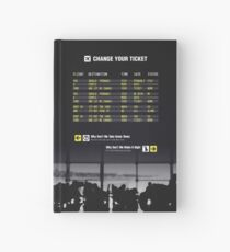 Change Your Ticket Hardcover Journal
