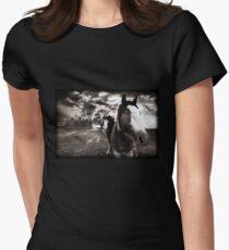 Horses 1 T shirt Women's Fitted T-Shirt