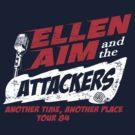Ellen Aim & the Attackers Tour 84 by superiorgraphix