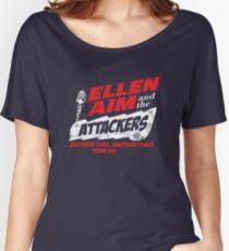 Ellen Aim & the Attackers Tour 84 Women's Relaxed Fit T-Shirt