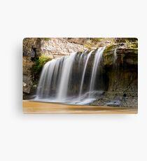 Upper Cataract Falls - Left Side Canvas Print