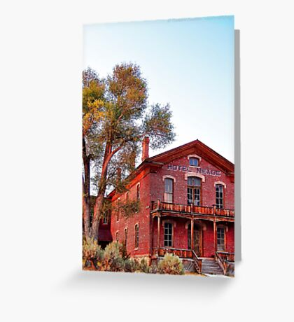 Hotel Meade 2 (Bannack, Montana, USA) Greeting Card