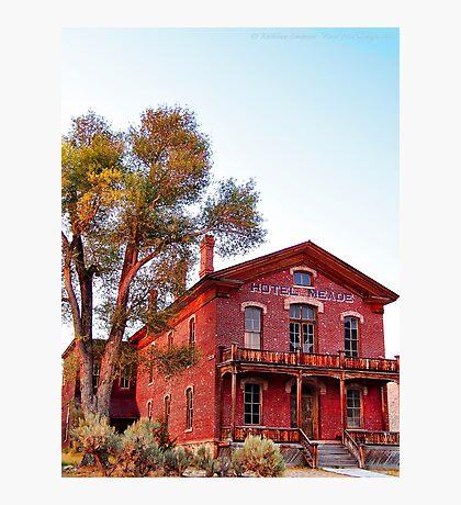 Hotel Meade 2 (Bannack, Montana, USA) Photographic Print