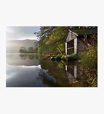 A Grasmere Boathouse Photographic Print