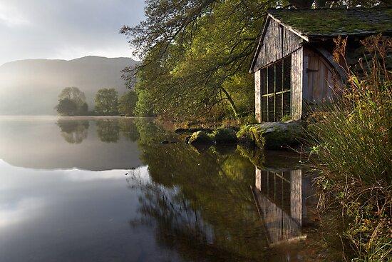 A Grasmere Boathouse by SteveMG
