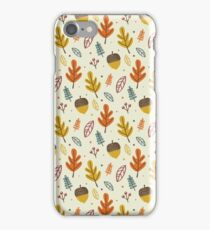 Hello autumn iPhone Case/Skin