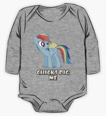 "Rainbow Dash - ""Chicks"" One Piece - Long Sleeve"