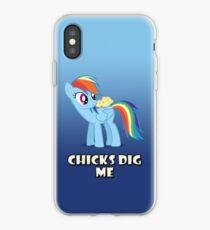 "Rainbow Dash - ""Chicks"" iPhone Case"