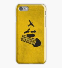 Bombing for peace... iPhone Case/Skin
