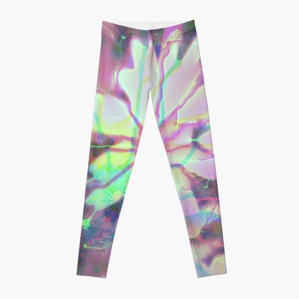 Floral abstraction Leggings