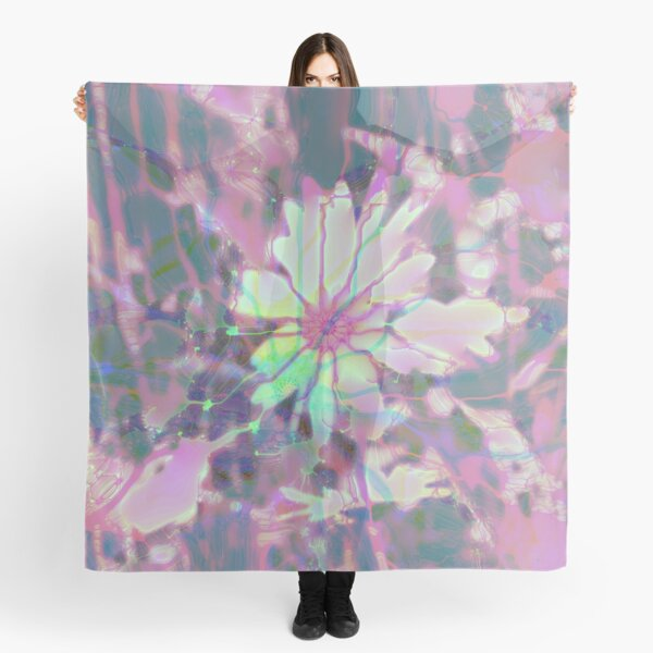Floral abstraction Scarf