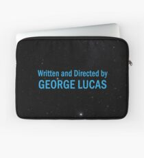 Written and Directed by George Lucas Laptop Sleeve
