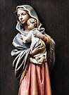 Mary and Baby Jesus by Yampimon