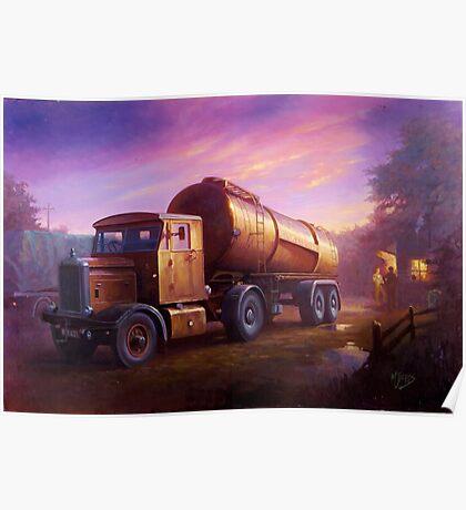Truckstop 1954 Poster