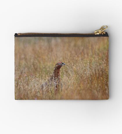 Red grouse Studio Pouch