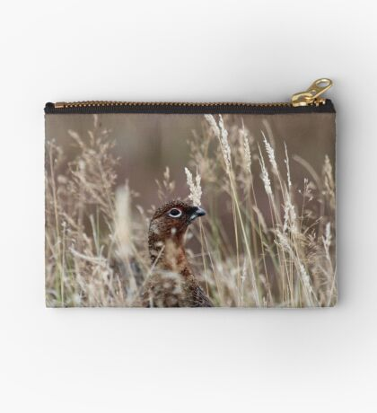 Grouse pose Studio Pouch
