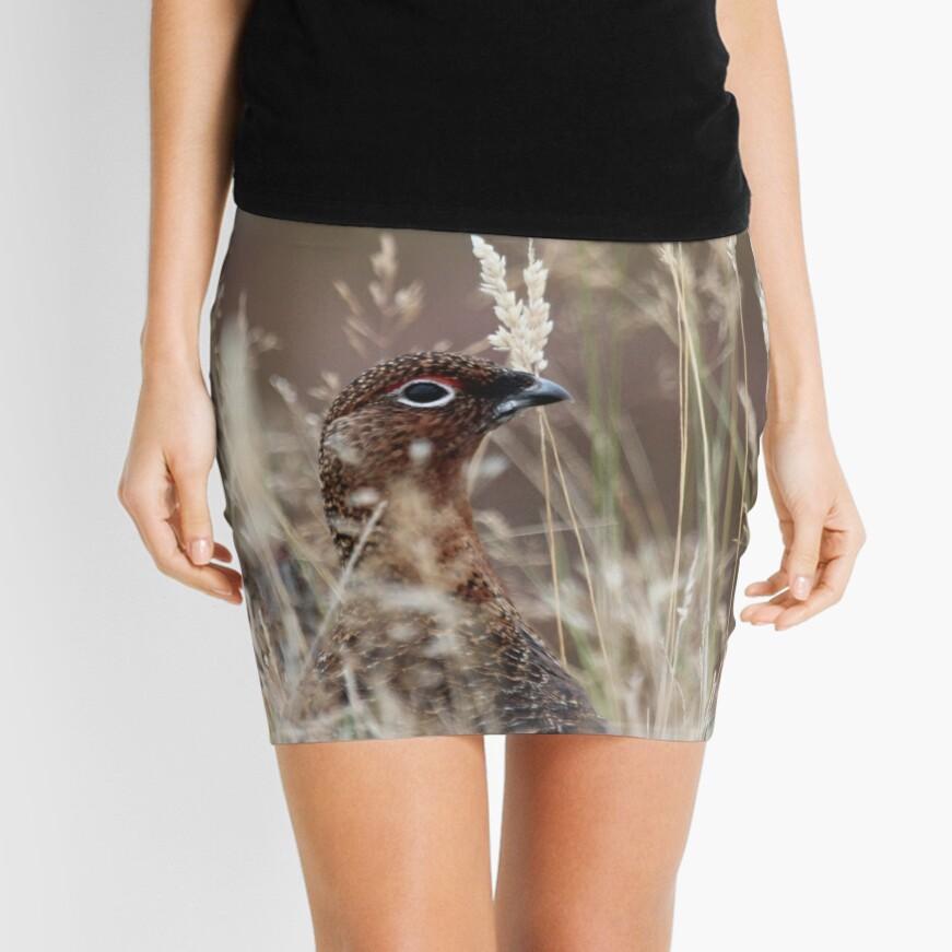 Grouse pose Mini Skirt