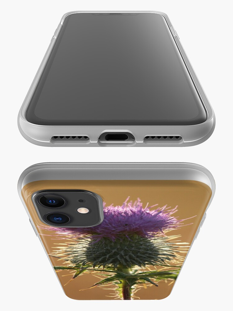 Alternate view of Thistle iPhone Case & Cover