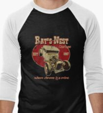 The Rat's Nest Men's Baseball ¾ T-Shirt