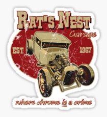 The Rat's Nest Sticker