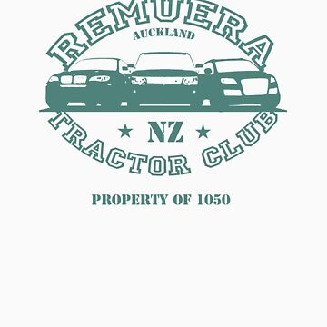 Remuera Tractor Club by BlackPineDesign