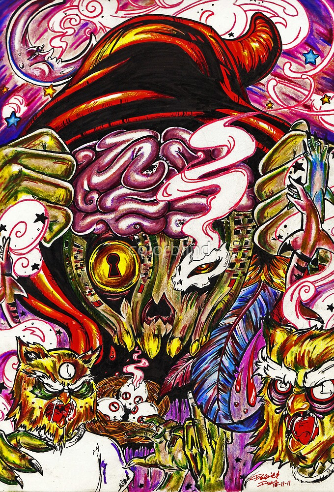 Starving Artist with a Devious Mind by colorblind