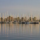 Sunset On Etobicoke Yacht Club by NewfieKeith