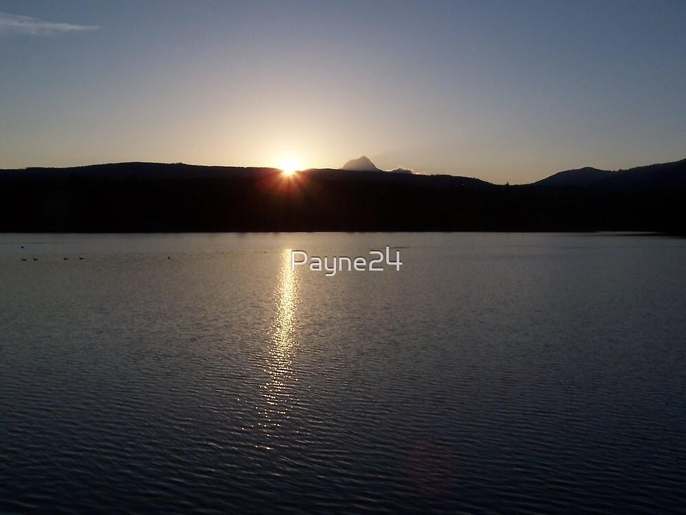 Sunset at Rock Creek Reservoir by Payne24