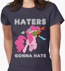Pinkie Pie haters gonna hate with Text T-Shirt
