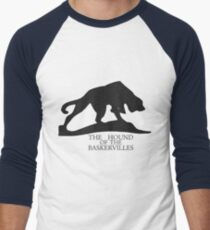 Hound of the Baskervilles Typography Men's Baseball ¾ T-Shirt