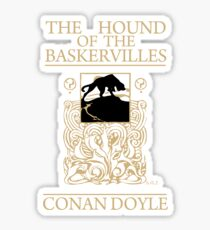 Hound of the Baskervilles Book Cover Sticker