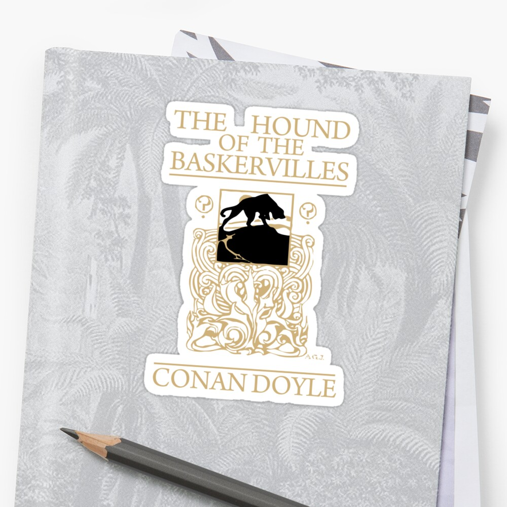 Hound of the Baskervilles Book Cover by curiousfashion
