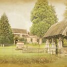 Lychgate Claines Church by Lissywitch