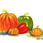 Autumn Harvest Still Life by little-artist