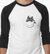 Pocket Toothless Men's Baseball ¾ T-Shirt