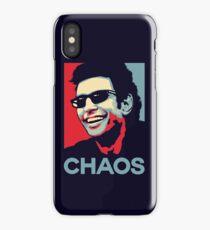Ian Malcolm 'Chaos' T-Shirt iPhone Case