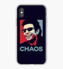 Vinilo o funda para iPhone Camiseta de Ian Malcolm 'Chaos'
