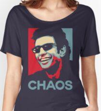 Ian Malcolm 'Chaos' T-Shirt Women's Relaxed Fit T-Shirt