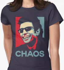 Ian Malcolm 'Chaos' T-Shirt Women's Fitted T-Shirt