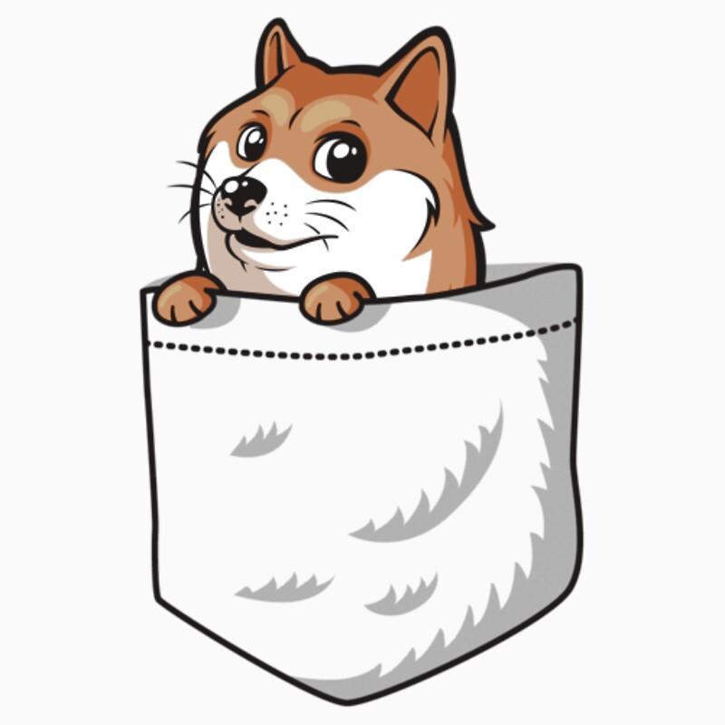 Quot Doge Pocket Pocket Doge T Shirt Quot One Piece Short
