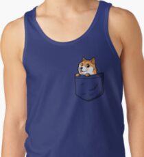 Doge Pocket (Pocket Doge T-Shirt) Tank Top