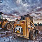 CAT Skid Steer - Salt Creek Operations by Chris Paddick