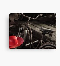 The Red Hat - Series 04 Canvas Print