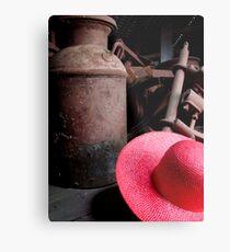 The Red Hat - Series 05 Metal Print