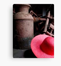 The Red Hat - Series 05 Canvas Print